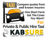 Taxi insurance quotes